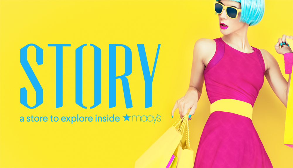 Story a store to explore inside Macy's