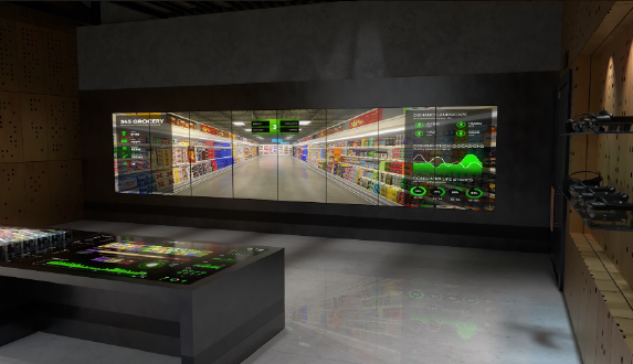Virtual Reality Wall
