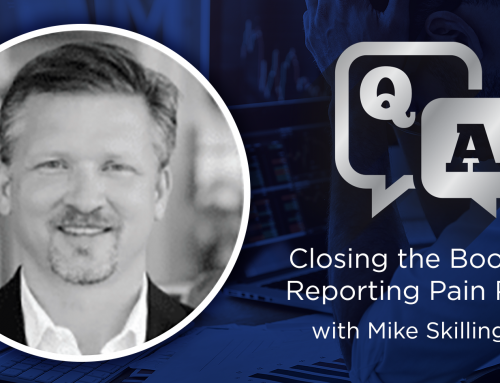 Closing the Books on Reporting Pain Points