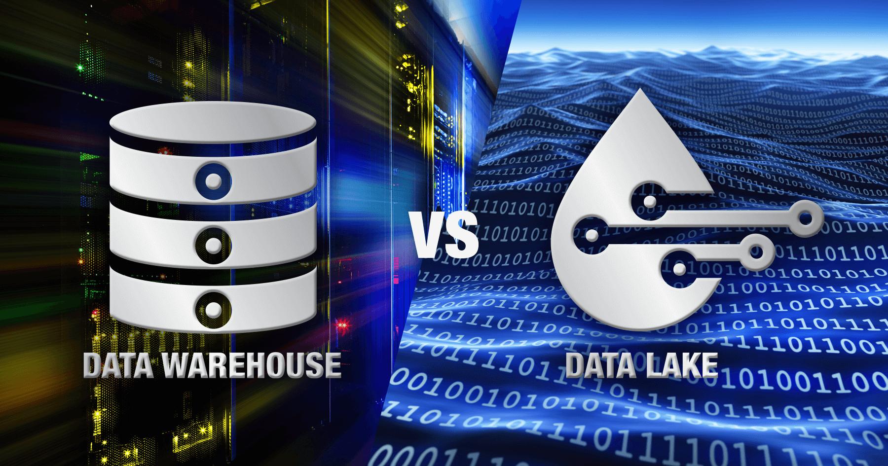 data lake vs data warehouse: the advantages and disadvantages of both